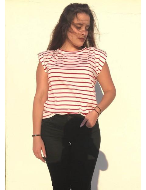 Μπλούζα με μαρινιέρα σε 4 χρώματα