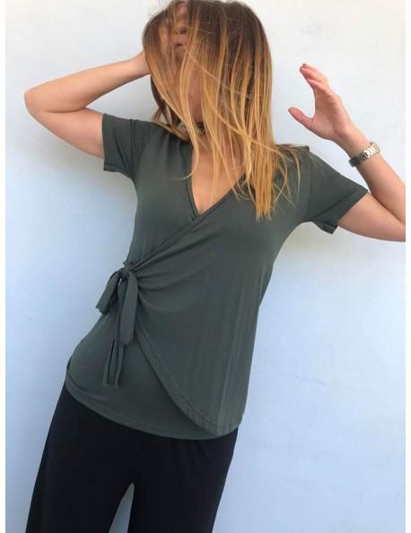 Μπλούζα κρουαζέ σε 4 Χρώματα