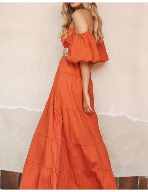Maxi Balloon Φόρεμα