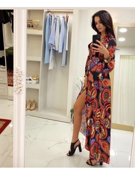 Φόρεμα Μπόχο Κρουαζέ
