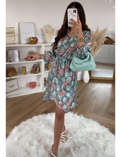 Φόρεμα Εμπριμέ Κρουαζέ