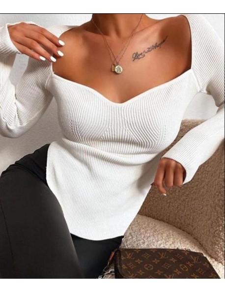 Μπλουζάκι Πλεκτό Ελαστικό