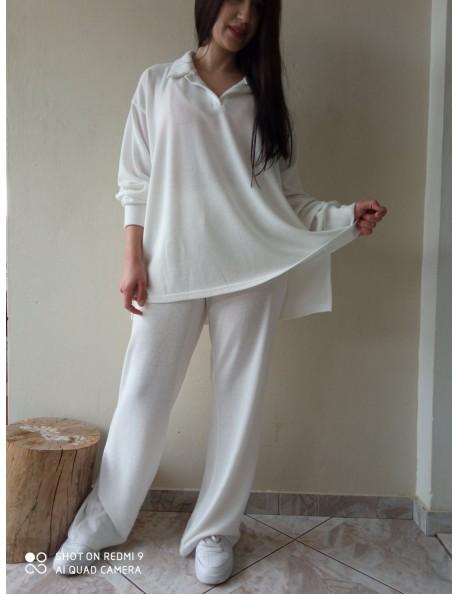 Σετ Πλεκτό Μπλούζα & Παντελόνα
