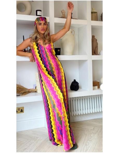 Ολόσωμη φόρμα πολύχρωμη