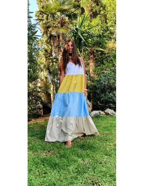 Φόρεμα μακρύ πολύχρωμο