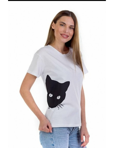 T-shirt Black Cat