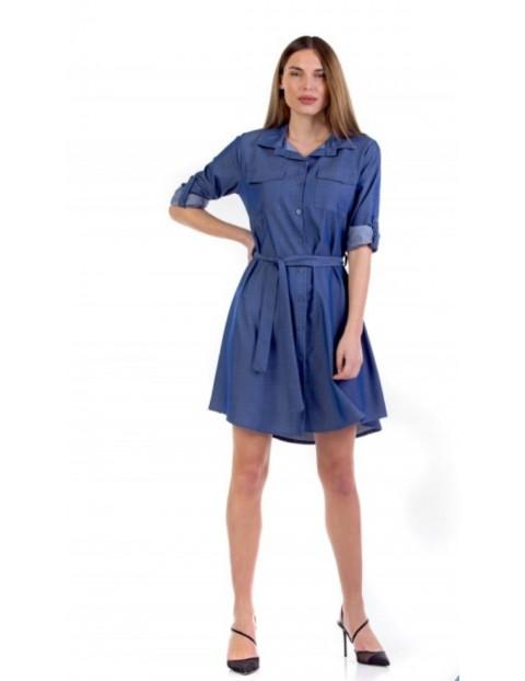 Φόρεμα Τζιν Μίνι