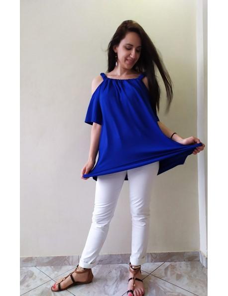 Μπλούζα έξωμη - 4 χρώματα
