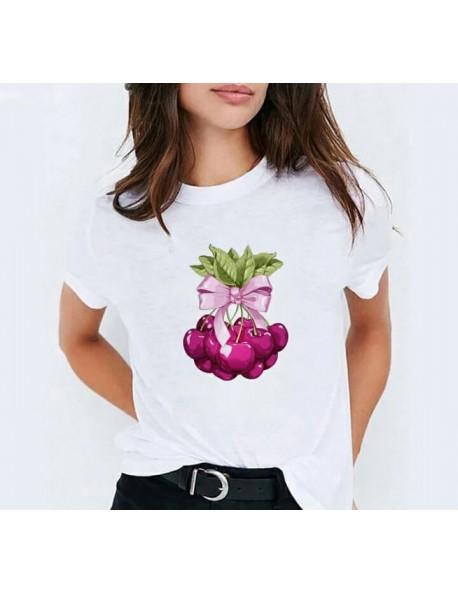 T-shirt με Κεράσια
